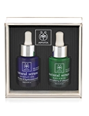 APIVITA Natural Serum Set for Moisturising and Radiance