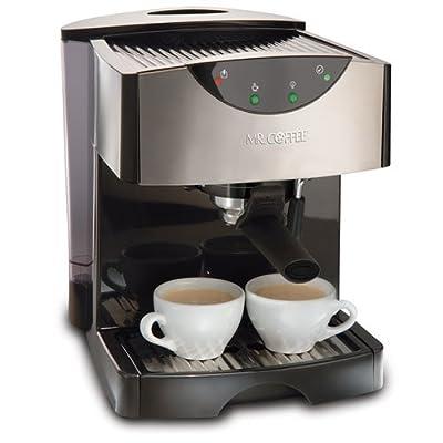 Mr. Coffee ECMP50 Espresso/Cappuccino Maker, Black made by Mr. Coffee