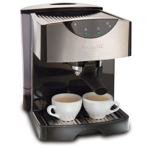 New Mr. Coffee ECMP50 Espresso/Cappuccino Maker, Black