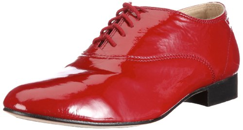 Bloch Fox Trot Shoes Womens Red Rot/RBN Size: 4 (37 EU)