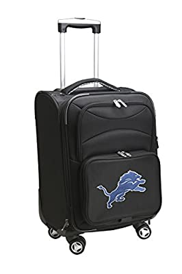NFL Domestic Carry-On Spinner, 20-Inch, Black