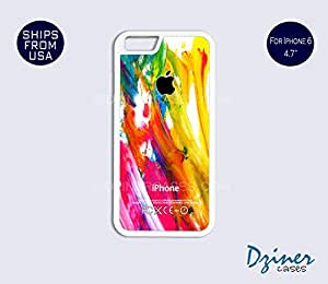 iPhone 6/6S Case - 4.7 inch model - Colorful Paint iPhone Cover