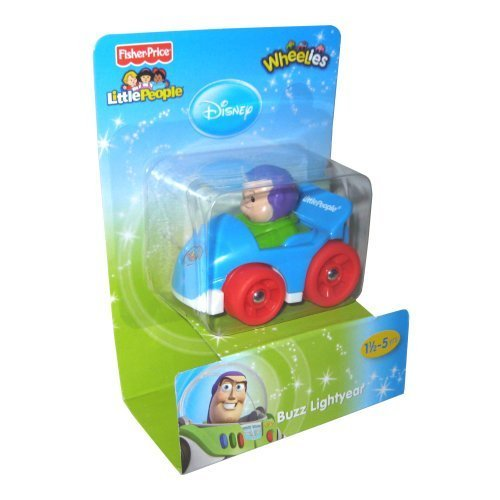 Fisher Price Disney Wheelies BUZZ CAR
