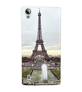 EPICCASE Effile Tower Mobile Back Case Cover For Vivo Y15 (Designer Case)
