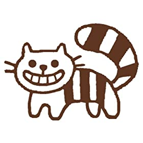 kodomo no kao カラーミニスタンプチェシャ猫(1651-411)