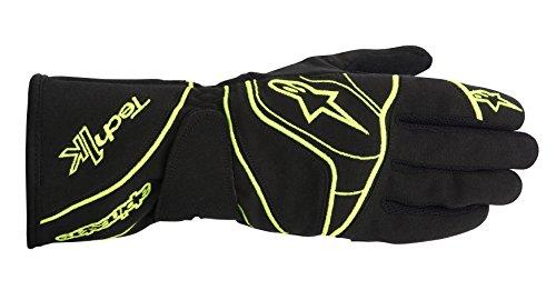 alpinestars-kart-handschuhe-schwarz-gelb-fluo-l