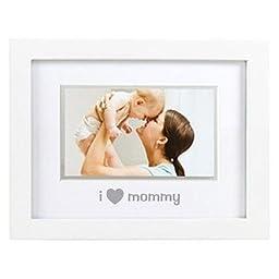 Pearhead Sentiment Frame - I Love Mommy, I Love Mommy/White