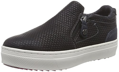 Wrangler Sheena Slip On 3D, Low-Top Sneaker donna, Nero (Schwarz (62 Black)), 40