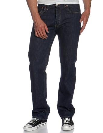 Levi's Men's 501 Jean, Rinse, 28W x 30L