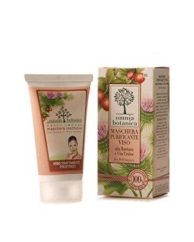 Omnia Botanica Set 6 Piezas De Mascarilla Facial Purificante De Bardana Y Uva Ursina 75 ml Ud.