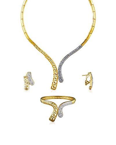 Rendez-Vous Conjunto de cadena, brazalete y pendientes Athéna Dorado