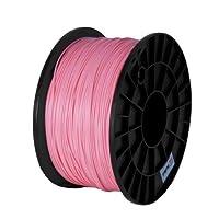 BuMat PLA 1.75mm, 1kg, 2.2lb Pink Filament Printing Material Supply Spool for 3D Printer PLAPK from BuMat