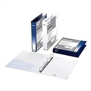 Favorit 4 anelli Ø 40 mm D 22x30 cm blu 06420614 : Office Products
