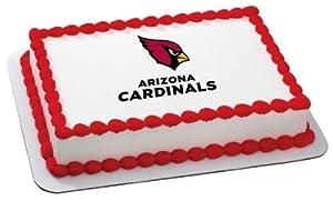 "3"" Round ~ NFL Football Arizona Cardinals ~ Edible Image Cake/Cupcake Topper!!!"