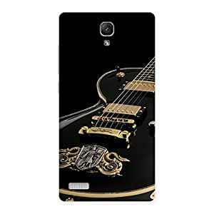 Stylish Music Guitar Back Case Cover for Redmi Note 4