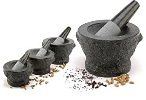 Granite Mortar and Pestle Large 8""