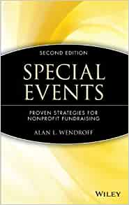 Special Events: Proven Strategies for Nonprofit