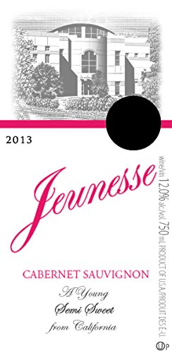 2013 Jeunesse California Cabernet Sauvignon 750 Ml