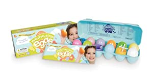 Easter Egg Set - 12 Resurrection Eggs With Religious Figurines Inside - Tells Full Story of Easter
