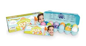 Easter Egg Set - 12 Resurrection Eggs With Religious Figurines Inside - Tells Full Story of Easter