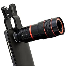 Mozybo Universal 8x zoom lens for mobile with Adjustable Clip Mobile Phone Lens