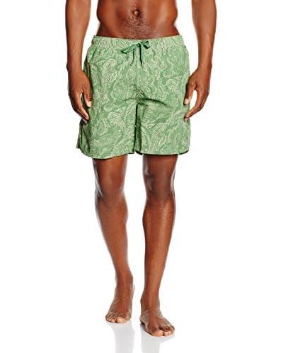 Marc O?Polo Body & Beach Short de Baño Verde / Amarillo