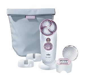 Braun Silk-épil 7 SkinSpa 7961  kabelloser Wet & Dry Epilierer (mit Aufbewahrungstasche)