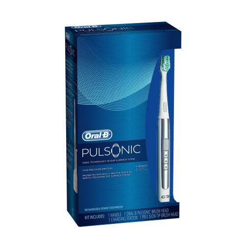 Oral-B Pulsonic Sonic Electric Toothbrush 1 Count