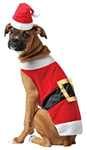Rasta Imposta Santa Dog Costume from Silvertop Associates dba Rasta Imposta