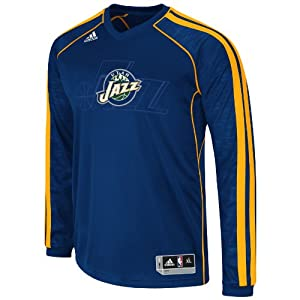 NBA Utah Jazz On-Court Shooting Jersey by adidas