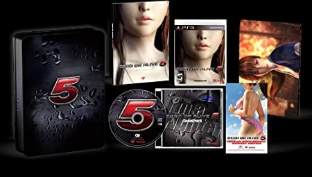 Dead Or Alive 5 Exclusive Collector's Edition
