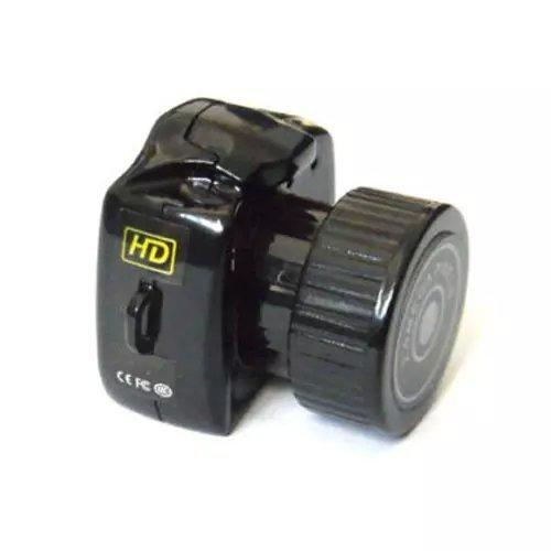 Goliton® Mini HD Digital Webcam Kamera Videogerät Kamera Recorder DV DVR TF Karten Slot Kompatibel Windows 2000 / Vista / Linux - Schwarz