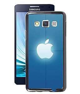Fuson 2D Printed Apple Designer Back Case Cover for Samsung Galaxy A3 - D1070
