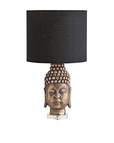 Mercana Macrocapa 1-Light Table Lamp, Black