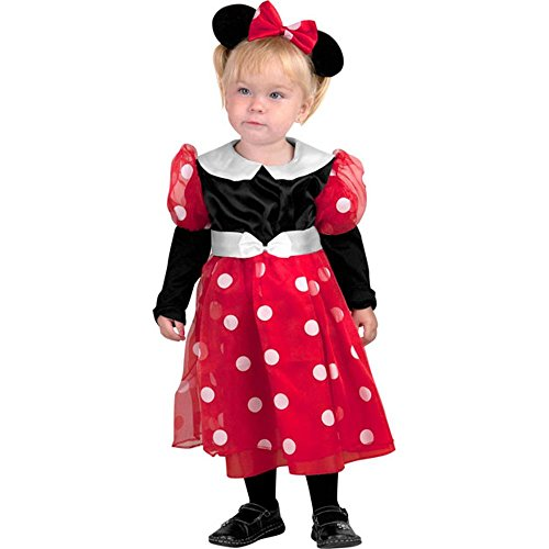 Toddler Minnie Mouse Deluxe Halloween Costume (4T)