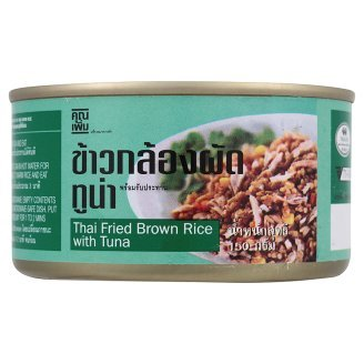 Khun Perm Ready-To-Eat Thai Fried Brown Rice With Tuna 150G