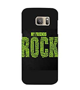SAMSUNG GALAXY S7 MY FRIENDS Back Cover by PRINTSWAG