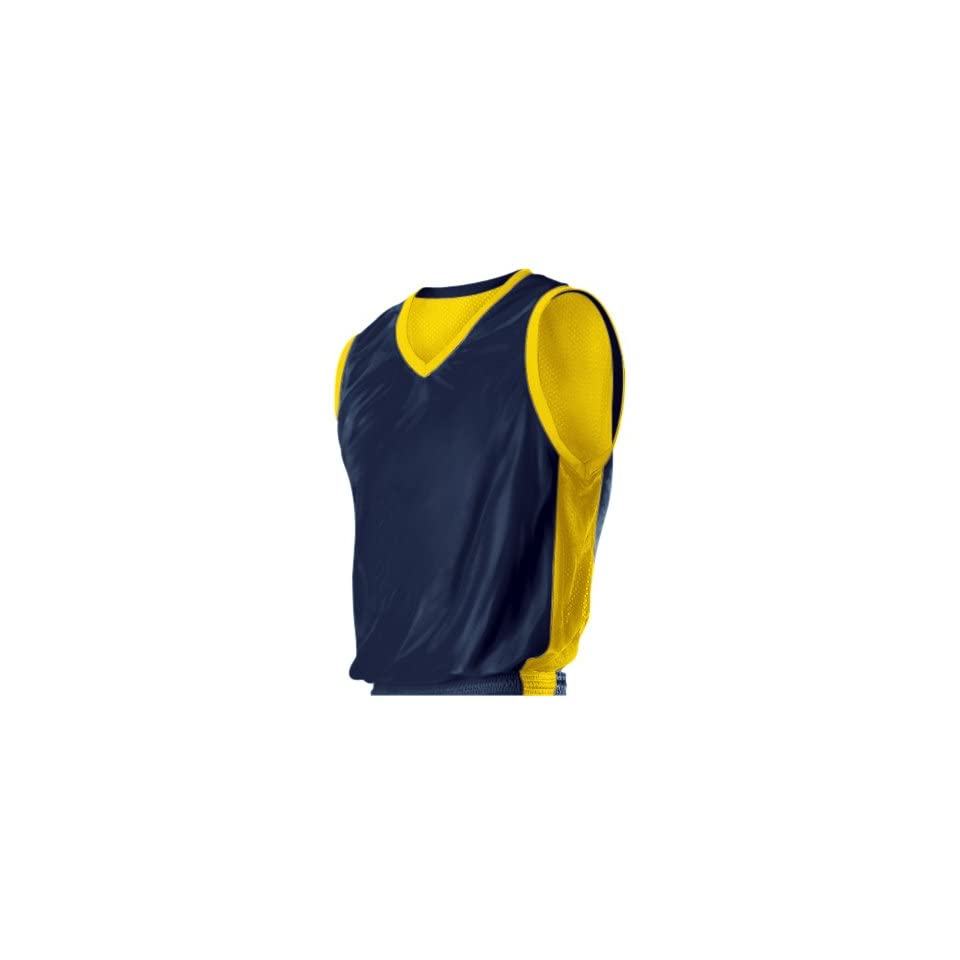 8d8f0ae8f8a Alleson 549NY Youth Reversible Custom Basketball Jerseys Outside NAVY