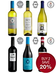 Medal Winning Italian Selection - Case of 6