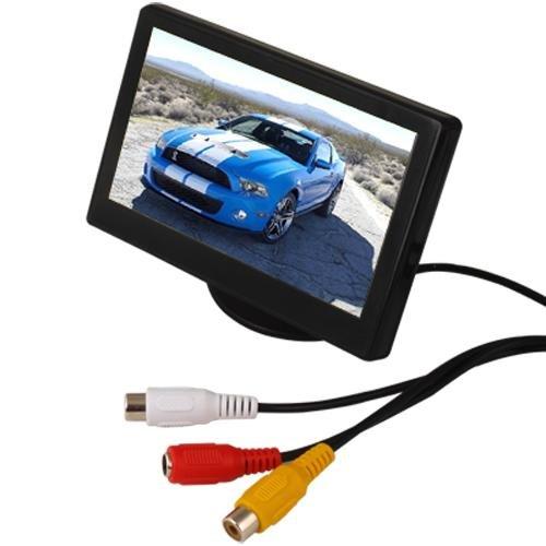 Monitor lcd 4 3 per auto telecamera retromarcia dvd for Telecamera amazon