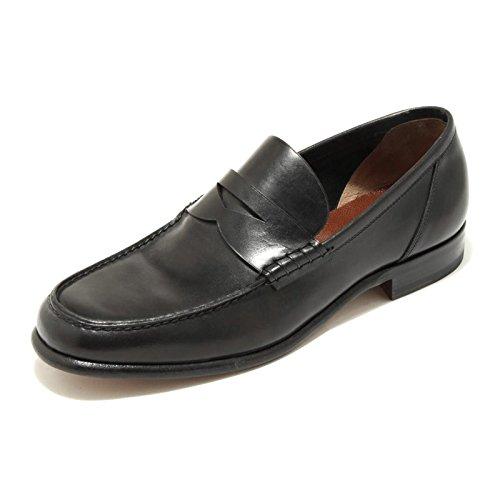 3485G mocassino uomo nero FRATELLI ROSSETTI ANTIQUE LUX scarpa loafer shoes men [6]