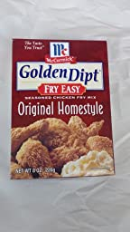 Golden Dipt Fry Easy Original Homestyle Mix 3 Pack