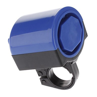 Bicycle Electronic Ring Bike Bell Ultra-Loud Horn Electronic Bell Blue