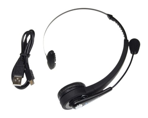 Selectec® Wireless Bluetooth Headphone For Sony Playstation 3 Ps3 With Mic Microphone