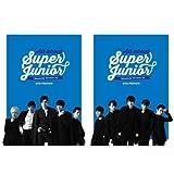 スーパージュニア - 写真集 All About Super Junior [ TREASURE WITHIN US ] DVD Preview ( フォトブック2冊 + リーフレット )