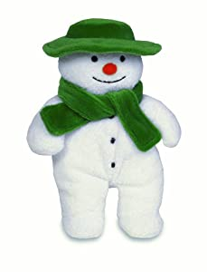Rainbow Designs Beanie Snowman 15cm with green hat and scarf