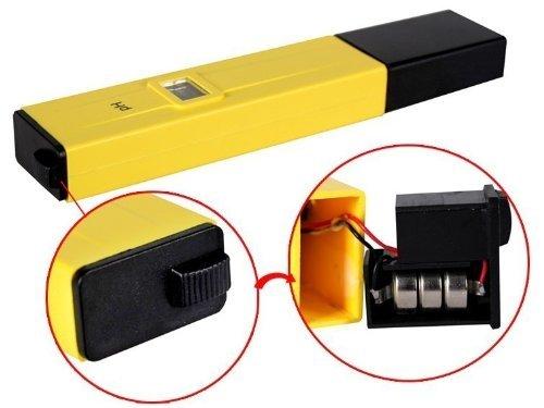 Et Digital Ph Meter Tester Water Lcd Monitor Pen Aquarium
