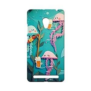 BLUEDIO Designer Printed Back case cover for Asus Zenfone 6 - G4100