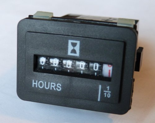 Hour Meter,Boat,Truck,Tractor - 4-40 V Ac Or Dc Rect