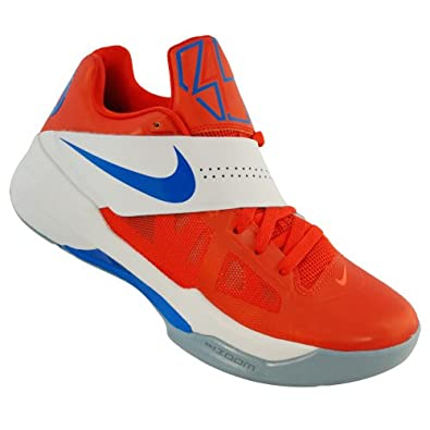 Amazon.com: Nike Mens Zoom KD IV Basketball Shoe Orange ...